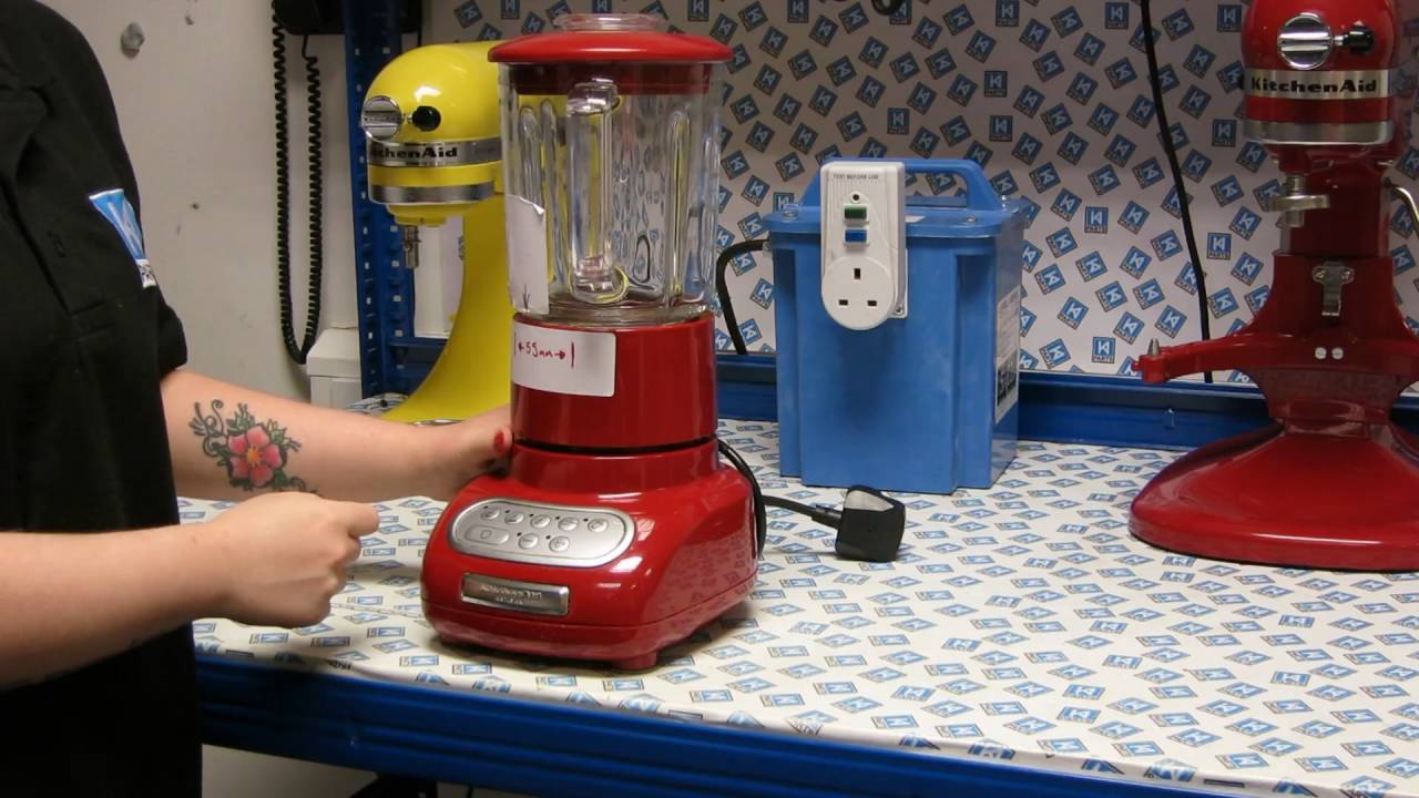 putting a new jug or collar on a kitchenaid blender youtube