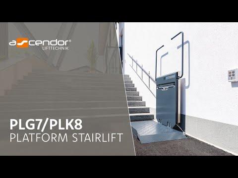 Platform stairlift Ascendor