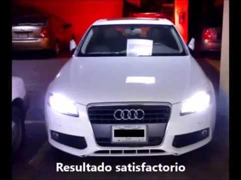 Cómo Cambiar Foco Xenon Audi A4 Youtube