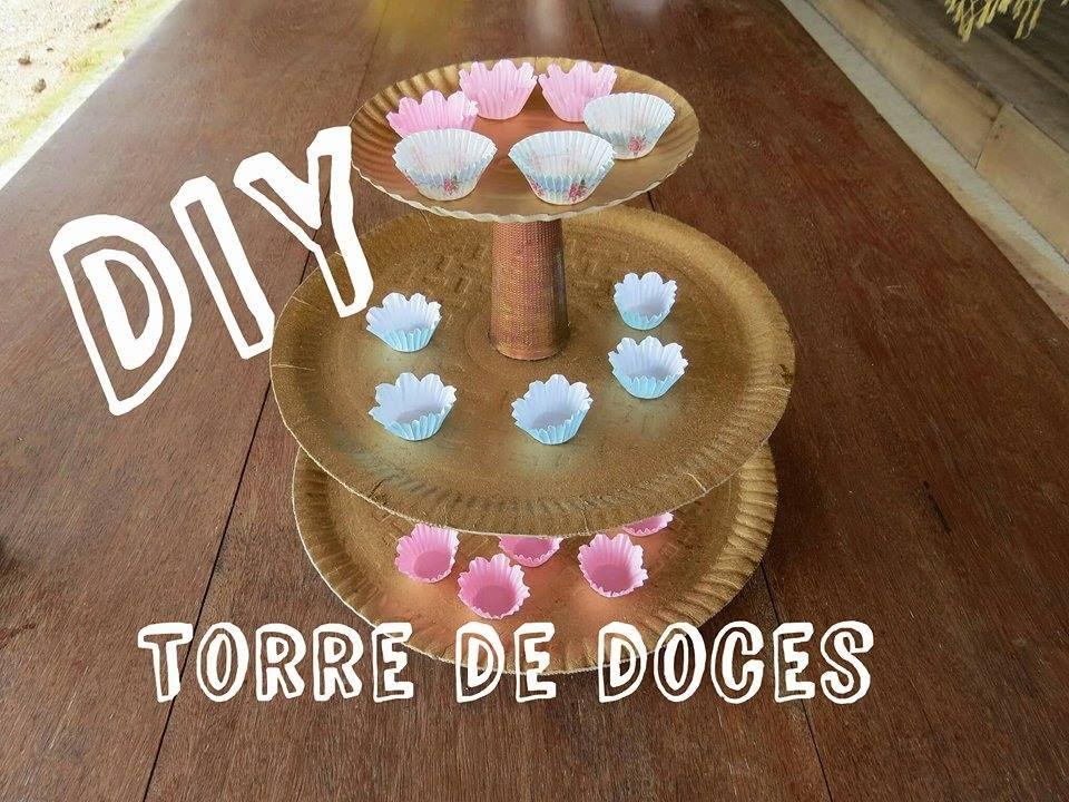 DIY - Torre de bandejas para doces