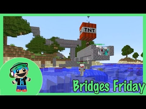 The Bridges Friday - Volcanic Islands with 81 people with Radiojh Audrey - Minecraft
