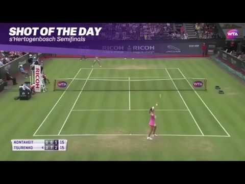 Ricoh Open Semifinals | Shot of the Day | Anett Kontaveit