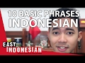 10 basic phrases for your first conversation - Easy Indonesian Basic Phrases (1)