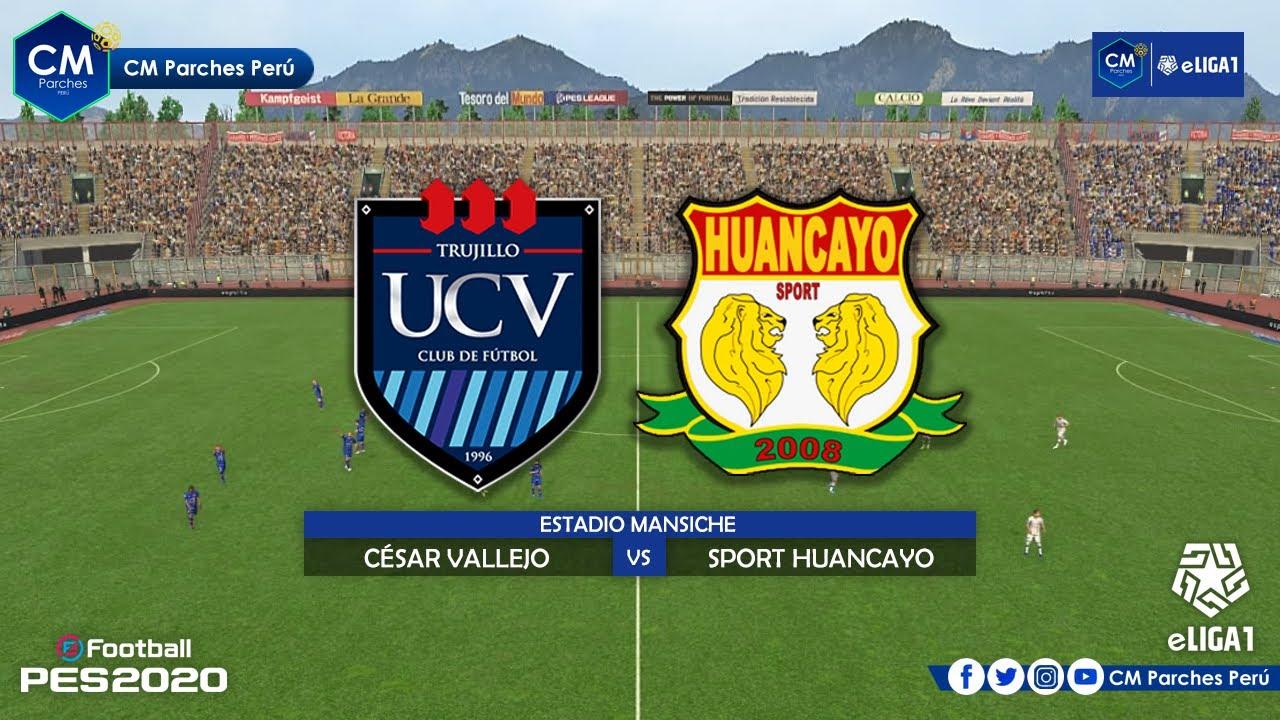 U Cesar Vallejo Vs Sport Huancayo Liga 1 Movistar Pes2020 Youtube