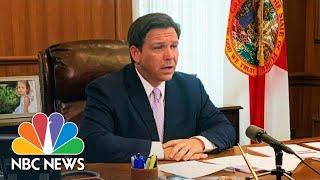 Florida Gov. DeSantis Gives Coronavirus Update | NBC News (Live Stream Recording)