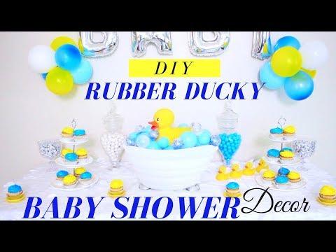 Diy Baby Shower Decor Rubber Ducky Baby Shower Decor Diy