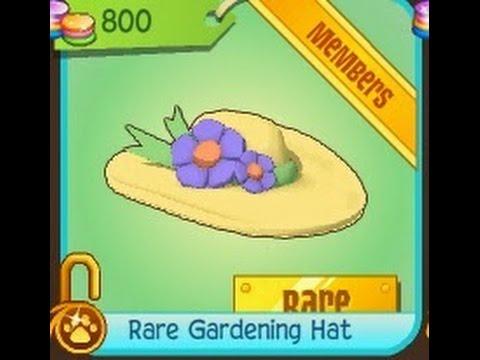 Animal Jam - Rare Gardening Hat, Update Blog. - YouTube