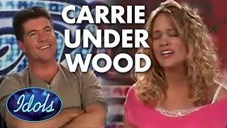 CARRIE UNDERWOOD BEFORE SHE BECAME FAMOUS | Idols Global