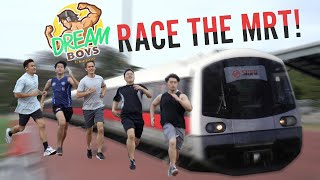 WE TRIED TO RACE THE TRAIN | Dream Boys