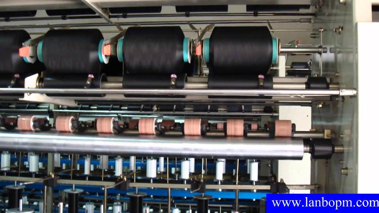 LB 188A Spandex Lycra Covering Machine