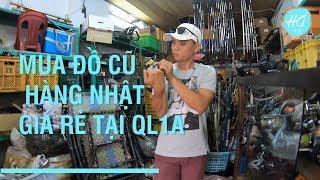 Hiếu Già Vlog - Đi kiếm hàng ngon tại bãi Nhật tại Quốc Lộ 1A và nhận được cái giá cực sốc