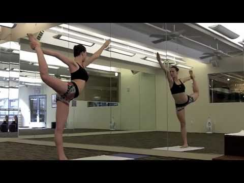 bikram yoga's standing bow pulling posture  youtube