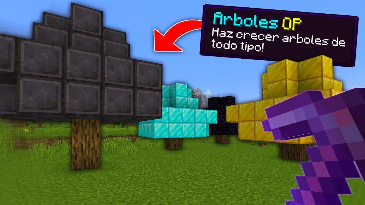 Download PASO Minecraft, pero los ARBOLES son OP...