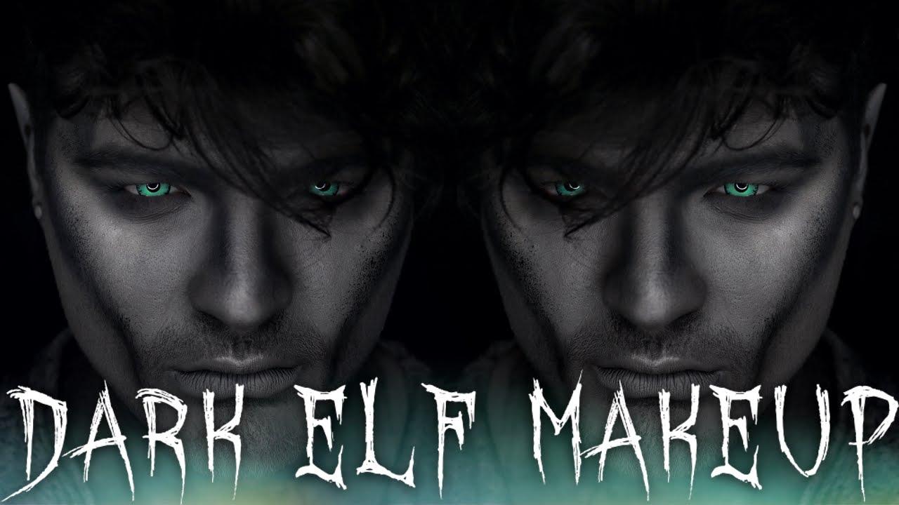 Dark Elf Cosplay Halloween Makeup Tutorial Shaanxo Youtube