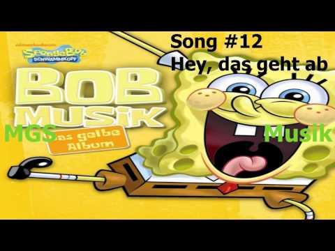 Spongebob Schwammkopf - Das gelbe Album - BOBMusik + Download