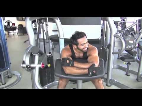 Tamer Hosny upcoming movie fitness preparations - 1st Phase