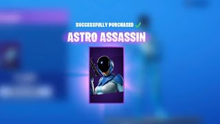 The *NEW* ASTRO ASSASSIN SKIN!! Fortnite Battle Royale (Fortnite season x)