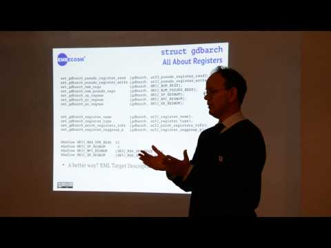 The GNU Compiler Collection, Dr Jeremy Bennett at Manchester Free Software