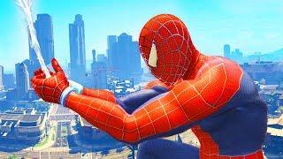 GIOCHIAMO A GTA5 COME SPIDER-MAN!!