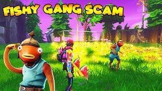 Fishy Army Scammer Loses Fishy Guns! (fishy gang)