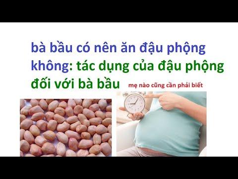 bà bầu ăn đậu phộng được không -  mang thai có nên ăn lạc không
