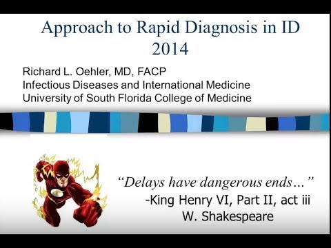 The Rapid Diagnosis of Infectious Diseases -- Richard L. Oehler
