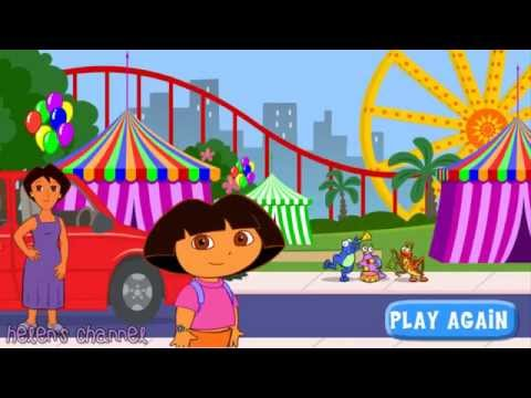 DORA THE EXPLORER - Dora's Ride Along City Adventure   Dora Online Game HD (Game For Children)