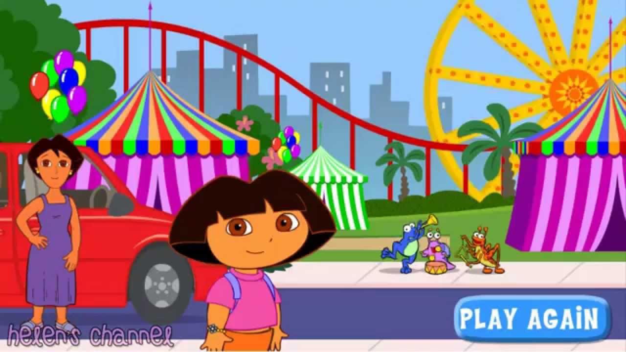 Dora The Explorer Dora S Ride Along City Adventure