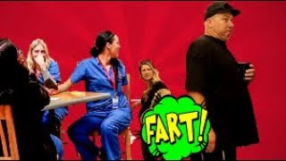 Funny Wet Fart Prank With The Sharter Toy At The Mall