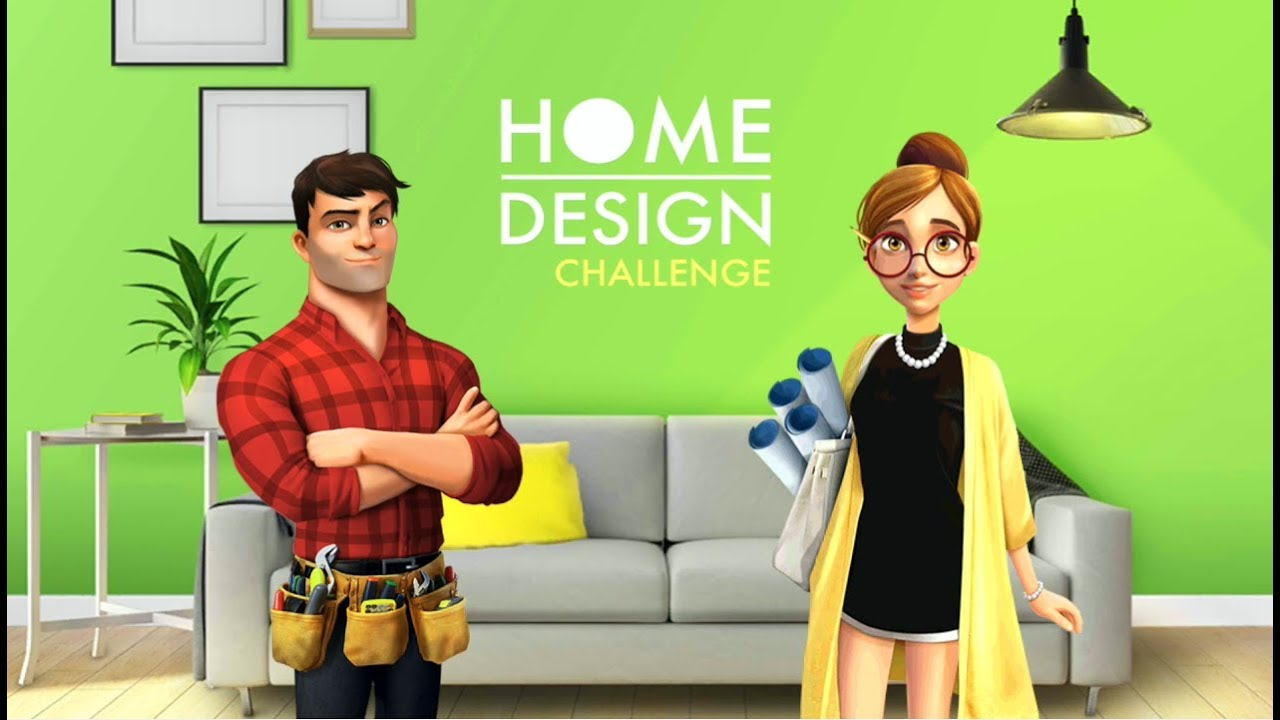 Home design challenge house design games for android youtube for Home design games free download