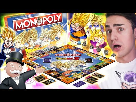 IL MONOPOLY PIU' BELLO DEL MONDO! Unboxing Monopoly Dragon Ball Super Z
