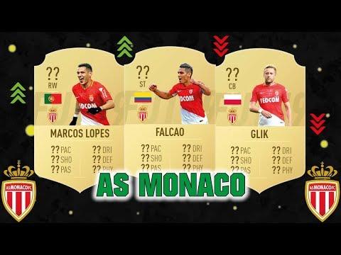 FIFA 19 | AS MONACO PLAYER RATINGS 😳💯| FT. FALCAO, LOPES, GLIK... etc