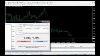 Meta Trader 4 Tutorial | Cara Transaksi Buy Dan Sell Di Metatrader 4 (MT4) | Cara Bermain Forex