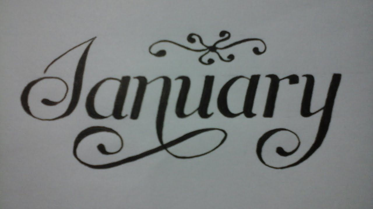 Calligraphy Writing For Beginners With Normal Pen