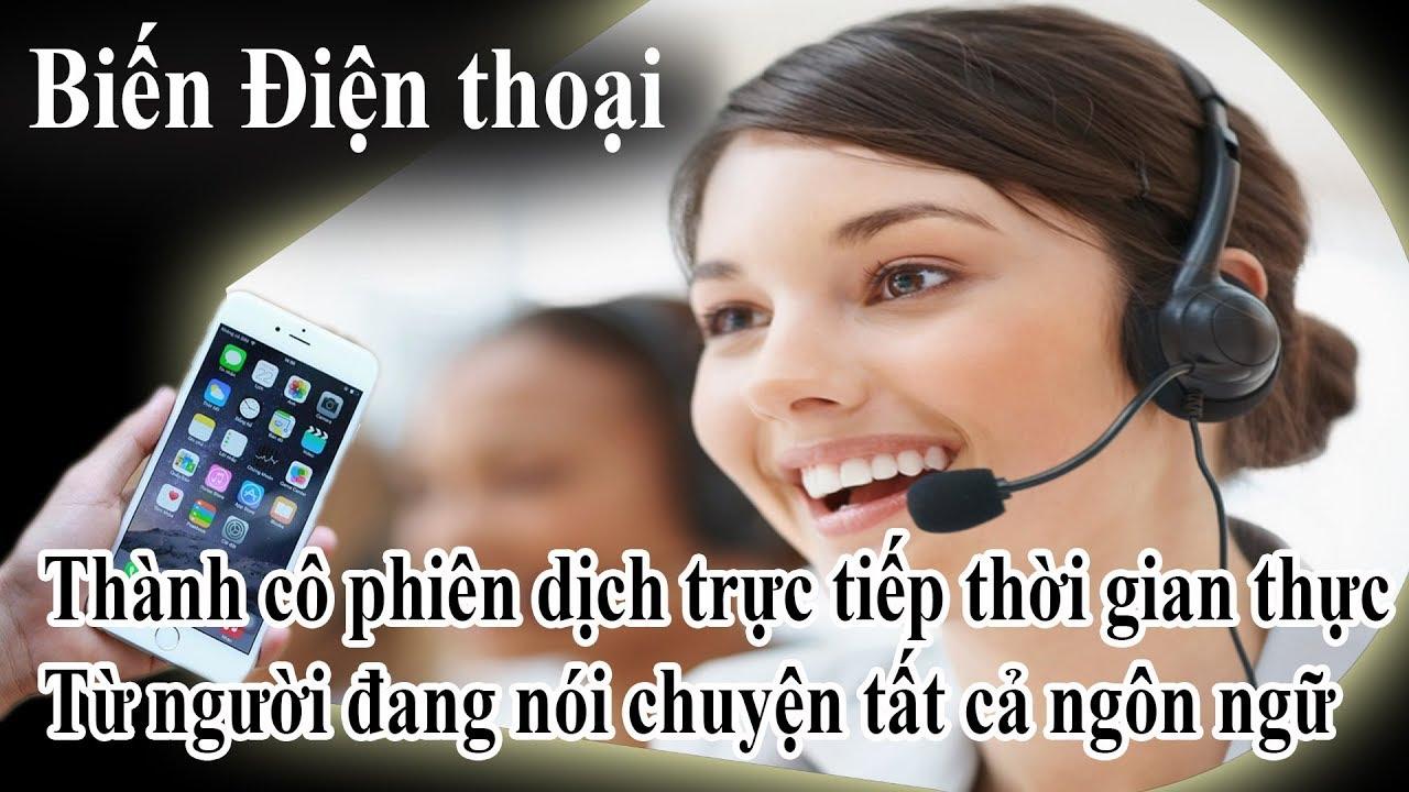 Dịch sang tiếng anh chuẩn nhất trực tiếp với người đang nói chuyện