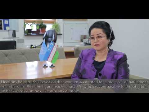 UNO Tashkent: #HistoryHerStory - Sayyora Khodjayeva