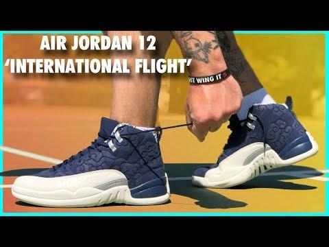 Air Jordan 12 'International Flight' Review