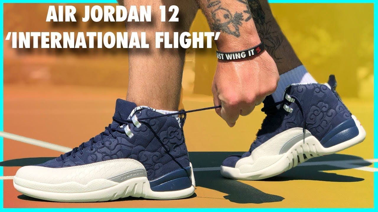 e8e21401bb4 Air Jordan 12  International Flight  Review - YouTube