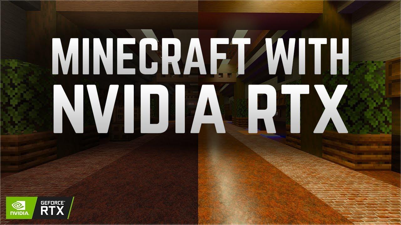 Minecraft with NVIDIA RTX! (Sponsored)