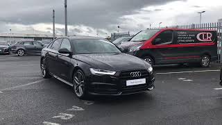 Audi A6 Black Edition for sale at Carlisle Audi