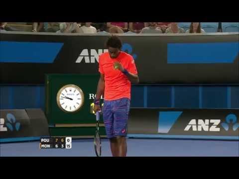 Shot of the day: Gael Monfils - Australian Open 2015
