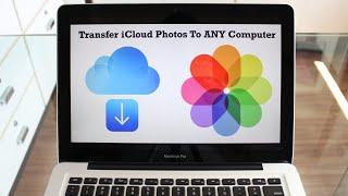 How To Transfer iCloud Photos/Videos to ANY Computer!