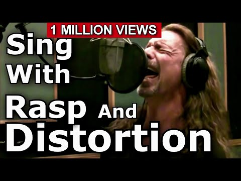 How To Sing With Distortion And Rasp - Ken Tamplin Vocal Aca