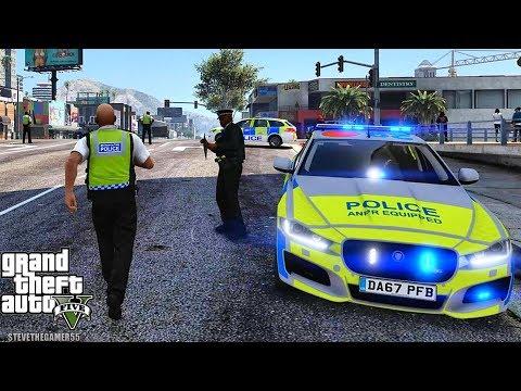 GTA 5 MODS LSPDFR 1007  - BRITISH PATROL!!! (GTA 5 REAL LIFE PC MOD)