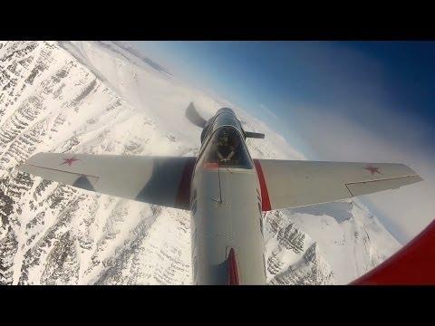 Yak 52 flight out of Reykjavik