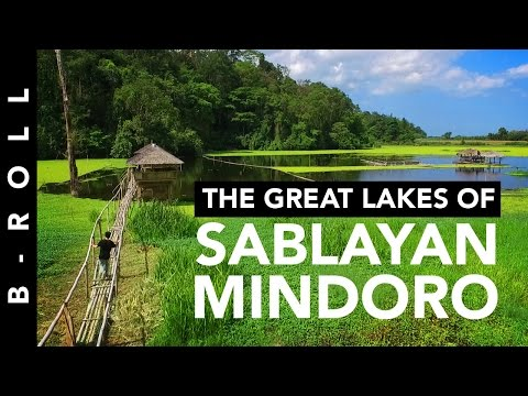 The Great Lakes of Sablayan • B-Roll 42 • Penal Colony, Mindoro Philippines