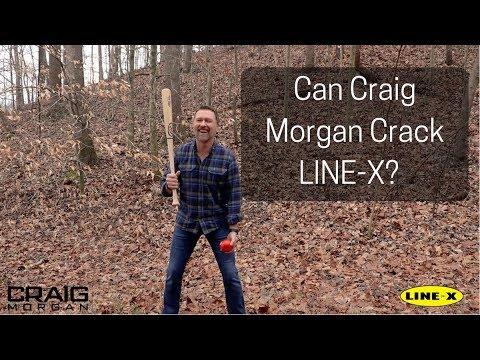 Can Craig Morgan Crack It - A LINE-X Tomato