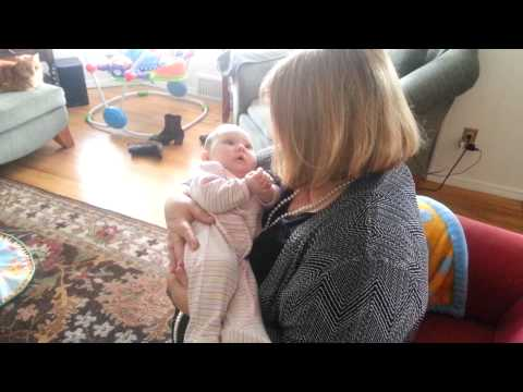 Baby Sings with Grandma
