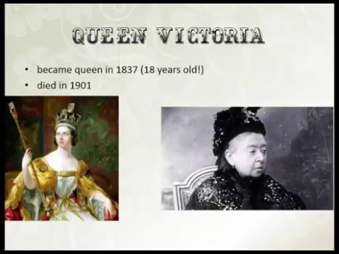Victorian Era - an introduction