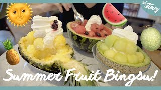 Must Try Best Korean Summer Dessert | Korean Shaved Ice feat. KpopSteve